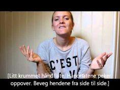 Minikurs i tegnspråk: spørreord (#8)