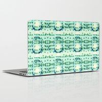 Laptop & iPad Skin featuring Green Tribomb by ARTDROID $20.00 - $30.00