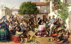 Life Among the Gypsies, Seville, 1853 by John Phillip