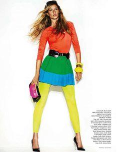 Gisele Bundchen by Mario Testino for Vogue UK December 2011