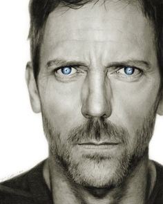 Hugh Laurie by Randy Attwood