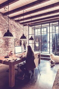 Interior Design | A Loft Home In Amsterdam - DustJacket Attic