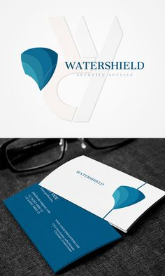 $2 #cheap #StockLogo and #BusinessCard – Watershield security #logo #Logos