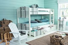 Kids Room Coastal - Kids' Bedroom Ideas - Childrens Room, Furniture, Decorating (EasyLiving.co.uk)