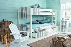 Kids Room Coastal - Kids' Bedroom Ideas - Childrens Room, Furniture, Decorating (EasyLiving.co.uk)