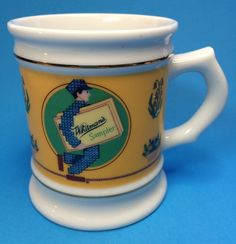 Corner Store Coffee Mug Cup Whitmans Sampler Chocolate Porcelain Franklin Mint