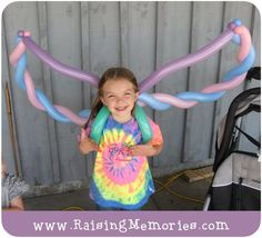 Twisted balloon wings #balloon #twisting