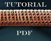 DIY Bijoux  Tutorial wire weaving pdf tutorial jewelry by MargoHandmadeJewelry