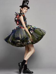 Viktor&Rolf, Vagabonds, Haute Couture, Autumn/Winter 2016, Backstage Beauty Editorial by Marijke Aerden