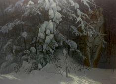 Robert Bateman Siberian Night Tiger