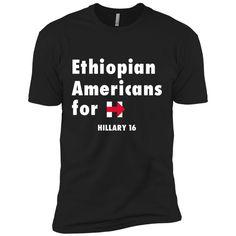 Ethiopian Americans For Hillary Next Level Premium Short Sleeve Tee