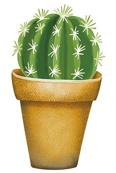 Litoarte Cactus Drawing, Cactus Painting, Cactus Art, Mandala Painting, Cactus Plants, Indoor Cactus, Watercolor Wallpaper, Watercolor Art, Easy Doodle Art