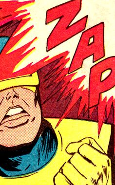 Cyclops by Jay Gavin & Dick Ayers, from X-Men #18 (March 1966)