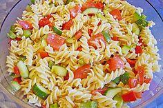 Leichter Nudelsalat, ein gutes Rezept aus der Kategorie Gemüse. Bewertungen: 110. Durchschnitt: Ø 4,2.