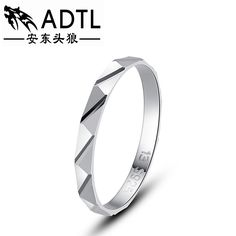 Personality rhombus finger ring fashion 925 sterling silver flower ring for woman popular ring free carving
