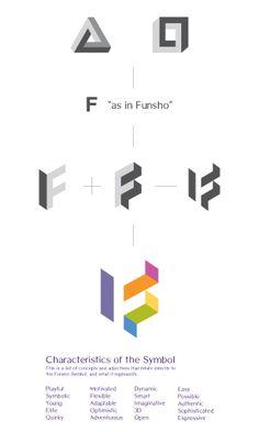 Funsho Corporate Identity by Emech Zeinali, via Behance