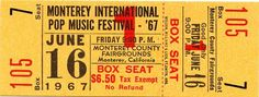 16th June 1967, The three day Monterey Pop Festival in California began. All the proceeds went to charity when all the artists agreed to perform for free, the 'Summer of Love' was born. The festival saw the first major US appearances by The Who, Jimi Hendrix and Janis Joplin. Also on the bill: The Byrds, Grateful Dead, Otis Redding, Simon & Garfunkel, The Steve Miller Band, Canned Heat, The Mamas And The Papas, Jefferson Airplane, Buffalo Springfield and The Electric Flag. John Phillips, of…