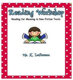 Wowzers! This strategy package includes:-A five-day reading workshop lessons-All printables/blackline masters to go with the lessons-Oral l...