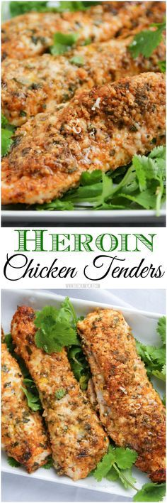 Heroin Chicken Tenders - Deliciously crispy and packed full of flavor, these chicken tenders will amaze you!