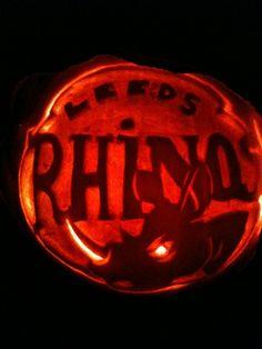 Leeds rhinos Leeds Rhinos, Pumpkin Carving, Pumpkins, Pumpkin Carvings, Pumpkin, Squash