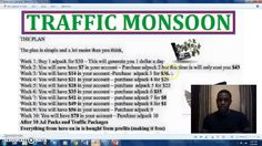 Day 116 - Earning $2300/Month with Traffic Monsoon - Review