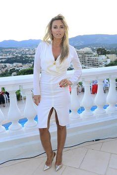 Grażyna Torbicka, Doda i Natalia Janoszek w Cannes Anja Rubik, Cannes, White Dress, Celebrities, Dresses, Style, Fashion, Women, Vestidos