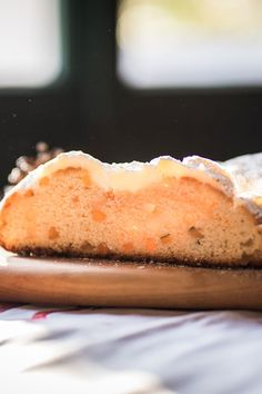 Weihnachtsstollen Stollen, Cheesecake, Bread, Kind, Rum, Desserts, Simple, Dessert Ideas, Kuchen