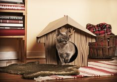 The Canadian Cat Cabin by Loyal Luxe  - Available at hjmews.com!