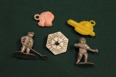 Vintage lot of 5 1960's plastic toy by julesoldjewels on Etsy