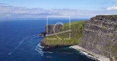 Cliff's of Moher Ireland green island as a canvas print . Cliffs Of Moher, Canvas Prints, Art Prints, Fine Art, Nature, Travel, Ocean, Ireland, Art Impressions
