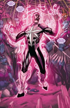 John Stewart, Star Sapphire (from Green Lantern Corps) Green Lantern Corps, Black Lantern, Star Sapphire Dc, John Stewart Green Lantern, Pink Lanterns, Superhero Characters, Super Hero Costumes, Cultura Pop, Marvel