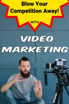 Video is the wave of the future on the internet. People would rather watch a video than read a post. Learn blow away the competition with your videos.