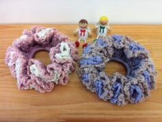 ダブル★シュシュの作り方|編み物|編み物・手芸・ソーイング | アトリエ|手芸レシピ16,000件!みんなで作る手芸やハンドメイド作品、雑貨の作り方ポータル