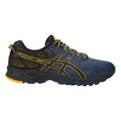 ASICS Mens GelSonoma 3 Running Shoe Insignia Blue/Black/Gold Fusion 6.5  Medium US