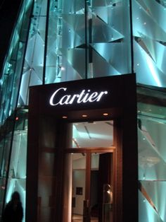 Cartier is one of my favorite brands. I'm so over Tiffany's silver. Give me my gold!