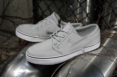 #Nike #StefanJanoski 'Metallic Silver' yet another colour up. Hope Nike don't play this silhouette out! #SaturateTheMarket