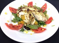 Summer's seasonal delights are all on one plate for your lunch today: Citrus Salad with Vine-ripened Tomato, tossed with Blackberry Vinaigrette & topped with Lemon-Pesto Crusted Tilapia! And don't forget, today's Wine'd Up Wednesday! Enjoy your salad with a glass of Signature d. Sauvignon Blanc at half off!