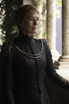 """Cersei Lannister (6x10 """"The Winds of Winter"""") (OK but I frikkin LOVED her dresses in this episode, they are the best things to ever happen to this show.)"""