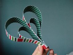 Paper Heart Ornament by reesedixon, via Flickr