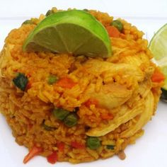 Rice and Chicken - Latin Food