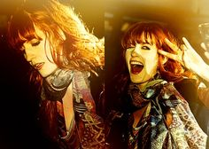 Florence <3 most gorgeous voice also.