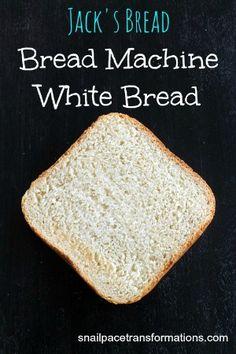 Jack's Bread Bread Machine White Bread (medium)