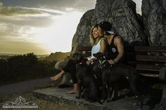 overberg sunset engagement shoot