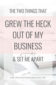 The Two Things that Grew the Heck Out of My #Business and Set Me Apart // Creative at Heart -- #business #marketing #blogging #socialmedia