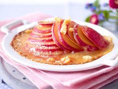 Dessert mit Pflaumen - süße Ideen mit Saisonobst - gratinierte-sommerpflaumen  Rezept