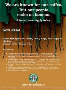 Starbucks opening for CDO