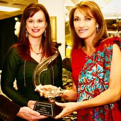 Was looking through some pics and found this one of the #beautiful #JaneSeymour giving me an award for #designing the best #bedding at #AmericasMart in #atlanta when I first started #manufacturing! #madeintheUSA #dallas #designer #KF #DesignLifeStyle #beingkathyfielder www.kathyfielder.com