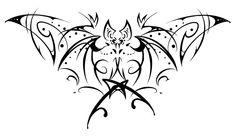 bat - possible henna? Cute Tattoos, Body Art Tattoos, Sleeve Tattoos, Doodles Zentangles, Magic Illusions, Native Tattoos, Goth Art, Flash Art, Tattoo Stencils