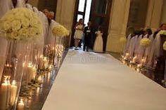 Znalezione obrazy dla zapytania dekoracja kościoła ślub