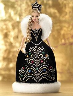 2006 Holiday Barbie Doll By Bob Mackie Barbie Collector